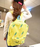 Student Bag Fashion New Arrival Leaf Design Backpack Back to School Bags Different Cartoon Bag XBG045