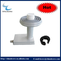 High gain Ku band prime focus universal LNBF with LNB holder 9.75/10.6GHz