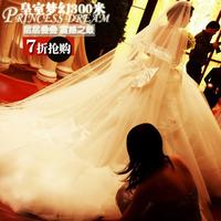 Wedding 2014 dream ultra long big train wedding dress 28