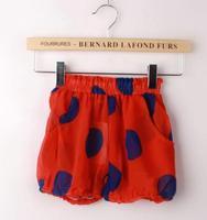3 colors Baby girls pants kids children dot shorts girl pants 0717 sylvia 40031061877
