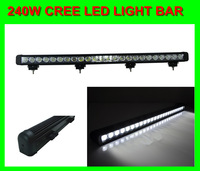 240W led work working light bar