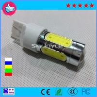 Free shipping T20 881 high power LED lamp reverse lights 7.5W five surface emitting led fog light