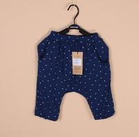 Baby boys pants kids children dot capri Modal pp pants 0713 sylvia 38072775871