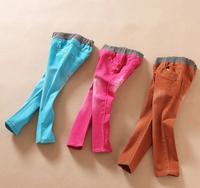6pcs/lot Baby girls pants kids children boys denim girl washed pants 0717 sylvia 39917519221