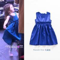 6pcs/lot Baby girls dress kids children summer star girl dresses 0804 sylvia 37534688380