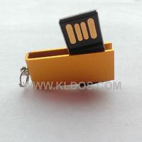 Promotional Products Lot 50 Bulk USB Flash Drive PenDrive Mini USB Key  USB Stick  Custom Gifts Free Logo Gold Color
