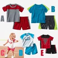 2014 kids clothes sets meninas vestir clothing sets free shipment fashion kids clothing set 5set/lot summer style wholesales