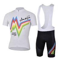 Bike Cycling Clothing Bicycle Wear Suit Short Sleeve Jersey + (Bib) Shorts S-3XL  CC1003