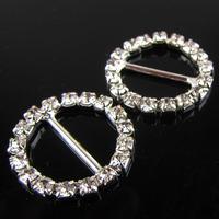 rhinestone buckle embellishment for garments, invitation buckle rhinestone,crystal buttons buckle jewelry(MOQ:100/lot