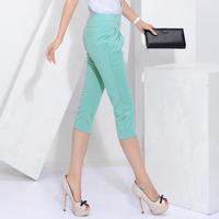 Afrs capris female plus size clothing pants 2014 slim female casual pants harem pants