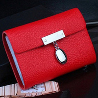 ODEMA New Genuine Cow Leather Card Case Business Card holder men&women Credit card Bag ID card wallet 26