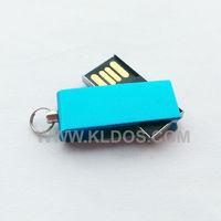 Promotional Products Lot 100 Bulk USB Flash Drive PenDrive Mini USB Key  USB Stick  Custom Gifts Free Logo Blue Color