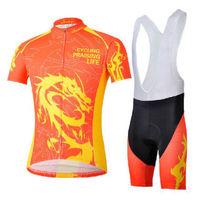 Bike Cycling Clothing Bicycle Wear Suit Short Sleeve Jersey + (Bib) Shorts S-3XL  CC1020
