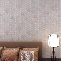 2014 new Chinese word flower wallpaper living room TV backdrop study papel de parede tapete grey brown renovator vintage