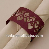 laser cut Sweet Heart Laser Cut Napkin Ring