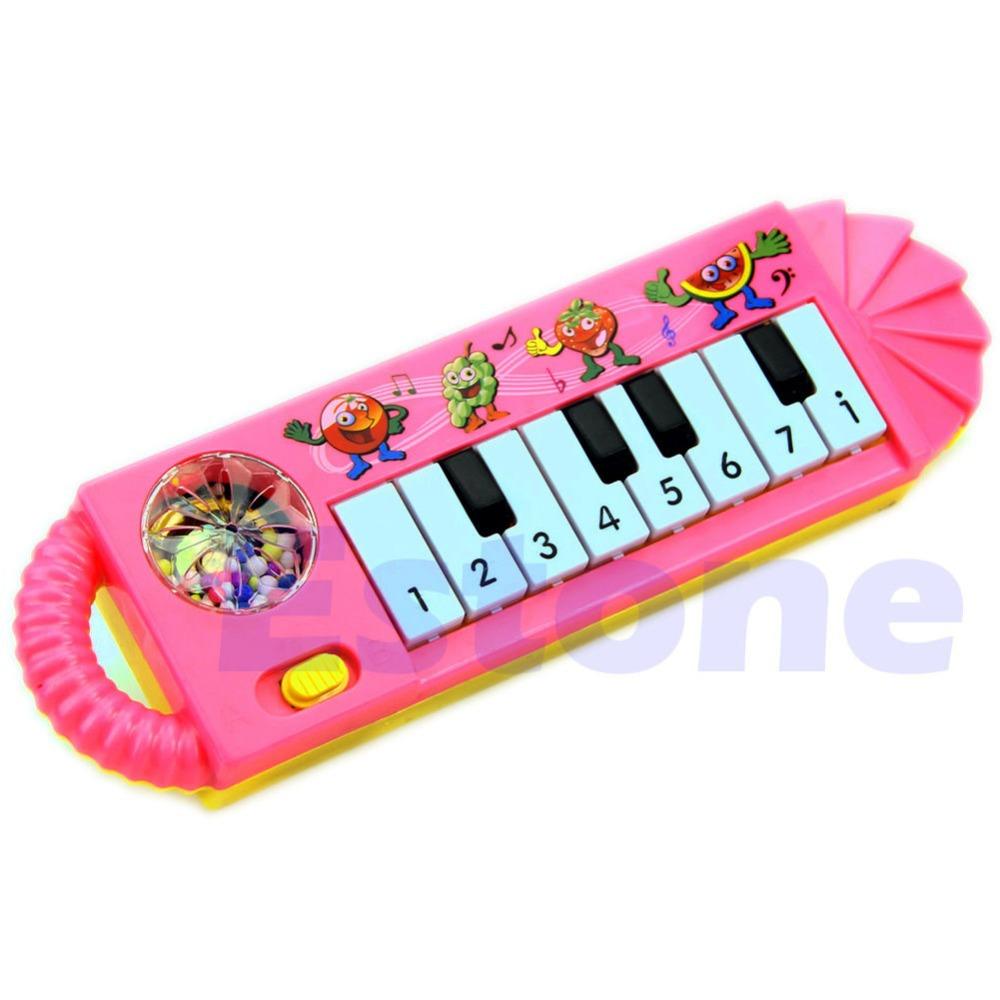 U119 Free Shipping 1Pc New Useful Popular 0-7age Baby Kids Piano Music Developmental Cute Toy(China (Mainland))