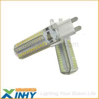 Express Free Shipping  G9 104 3014 SMD LED Light Bulbs 220V
