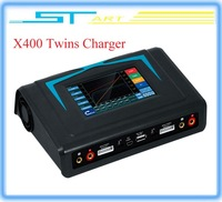Free shipping Original Imax RC X400 Twins Released New Touch Screen 400W Powerful Balance Charger Discharger for Helicopter