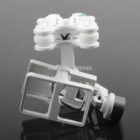 Walkera G-2D Brushless Camera Gimbal for SJ6000/iLook / Gopro Hero 3 White Plastic Version Camera Mount for QR X350 Pro / X800