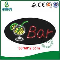 High brightness LED acrylic Bar club ,drink club ,store LED OPEN  Sign