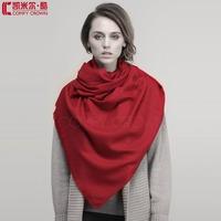2014 New scarf  Large Size  Twill wool scarf 100% Pure Wool Scarf  SWW709 fashion plain wool scarf ladies shawl pashmina