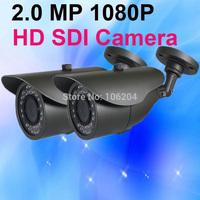 Full HD-SDI 1080P Bullet CCTV Camera WDR HD SDI 36LEDS indoor / Outdoor night vision Security home camera