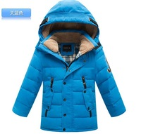 New 2014 Designer Cotton-padded Winter Coats Jackets for Baby boys Fashion Children Clothing Kids Duck Down Coat Outerwear Parka