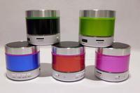 2014 New Speakers Multicolor Portable Audio Player Bluetooth Speaker S09 LED Flash Computer Speakers Loudspeakers