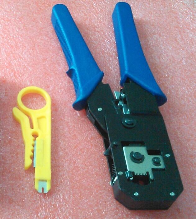 Сетевой инструмент No RJ45 RJ11 RJ45, RJ12 cat5cat3 обжимной инструмент rj 45 в алматы