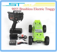 2014 New ZD 4WD 1/16 1:16 Scale 9055 Brushless Electric Truck  RC Drift Buggy As Gift For Children Low Shipping F children toys