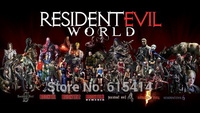 "010 Resident Evil 6 -  Biohazard World Zombie Shooting Hot TV Game 24""x14""  Poster"