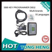 2014 Professional Universal Auto Key Programmer SBB V33 Silca SBB Immobilizer Key Maker 9 Languages For Multi-Brand Cars
