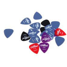 Гитара выборка Подходит для гитары и бас практике Алиса 20шт / комплект 0.96mm Smooth Нейлон Guitar Plectrums Бесплатная доставка(China (Mainland))