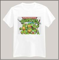 Teenage Mutant Ninja Turtles Tshirt For Women Men Short Sleeve Unisex Cotton Casual White Shirt Top Tee XXXL Big Size ZY055-16