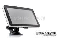 7 inch HD touchscreen128MRAM Wince6.0 533MHZ FM free map gps navigation gps