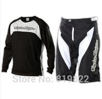 Troy Lee Designs TLD Sprint Shorts & Jersey Set Joker Black/White Motorcycle Motocross Cycling MX MTB MX Off-Road Sports Set