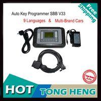 2014 Professional Auto Key Programmer SBB V33 Silca SBB Immobilizer Key Maker 9 Languages For Multi-Brand Cars FREE SHIPPING