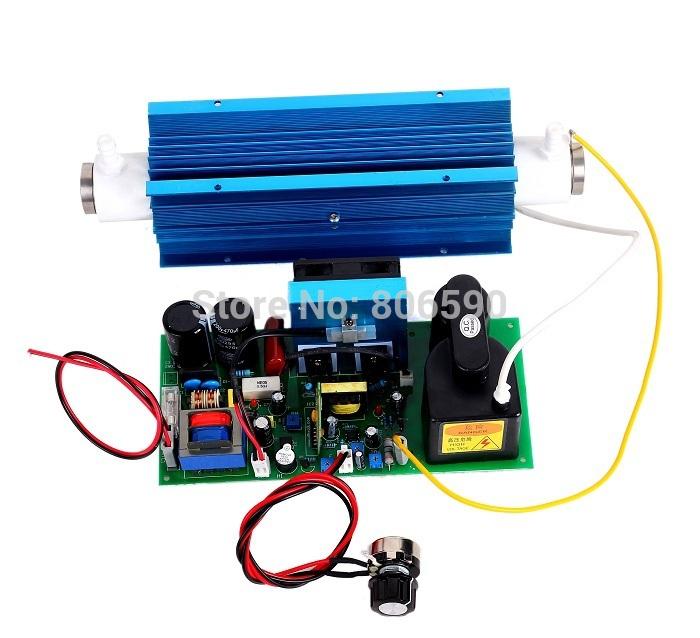 Ozone Generator Air Purifier, 0-10g/hr Adjustable Ozonator, Corona Discharge Quartz Tube Ozone Cell(China (Mainland))