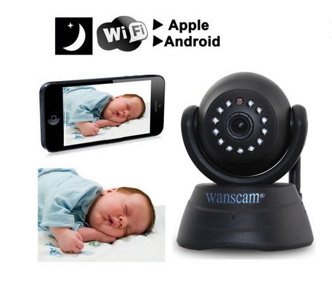 P2P Wireless ip cam cctv wifi Security Surveillance Monitor Network Internet Pan Tilt IP Camera Webcam Motion Detect(China (Mainland))