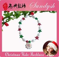 Beautiful Handmade Girls Chunck Necklace For Christmas