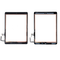 24.4usd For iPad air Touch Screen Digitizer for iPad 5 black and white The same price 10pcs free shipping fedex