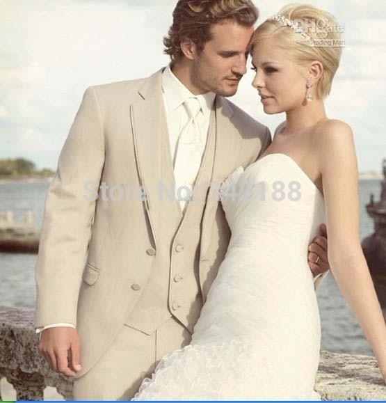 Свадебный мужской костюм Pleated 2015  for you custom any size and color