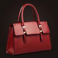 100% genuine leather handbag new fashion female shoulder bag women messenger bag 2014 crossbody bag totes women leather handbag