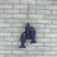 The new foreign trade export hang act the role of sell like hot cakes Mediterranean style creative home striped fish pendant
