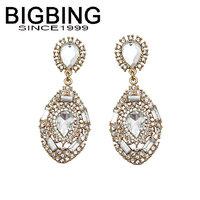 BigBing  jewelry fashion  crystal earrings earrings dangle earring good quality  nickel free Q585
