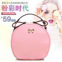 2014 women's handbag circle bag one shoulder cross-body small bags rabbit ears bag chain handbag