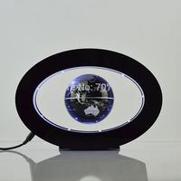 """Fantasy Globe 3"""" Oval Electronic Magnetic Levitation Floating Globe Antigravity Magic/Novel light Christmas Gifts Decoration"""