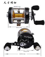 Trulinoya  Full  metal body and side cover  Bait Casting Fishing Reel  TL500  7+1BB  5.2:1  312g