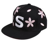 Flat snap back baseball cap woolen twill baseball cap with flat peak MOQ 3pcs mix color mix style