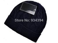 2014 New Unisex Winter Knitted Cap Skullies Brand Designer Fashion Hats Touca de inverno Gorros Beanie Men Women Free Shipping